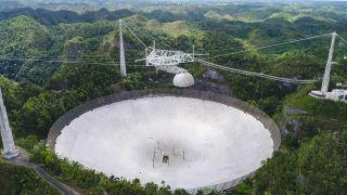 Крупнейшую обсерваторию Аресибо разберут из-за угрозы обрушения