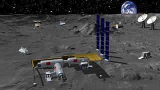 Китай приглашает к сотрудничеству другие страны для строительства лунной базы