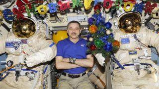 Новогоднее меню космонавтов на МКС