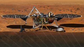 Ударный зонд станции  InSight завершает свою работу