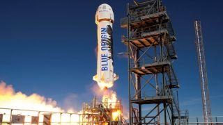 Blue Origin планирует запустить человека в космос уже в апреле этого года