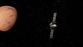 «Тяньвэнь-1» достиг первичной эллиптической орбиты Марса