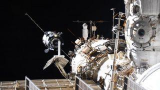 Стыковку корабля «Прогресс МС-16» провели в ручном режиме