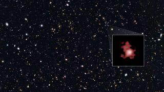 Старейшая гамма-вспышка оказалась бликом космического мусора