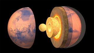 Ученым удалось определить размер ядра Марса