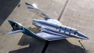 В Virgin Galactic представили свой новый космолет
