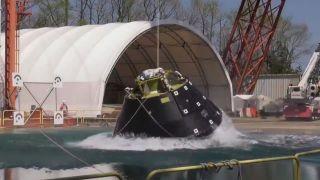 В НАСА провели успешные испытания приводнения капсулы корабля Orion