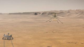 Ingenuity совершил четвертый полет на Марсе