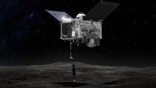 Зонд OSIRIS-REx летит к Земле