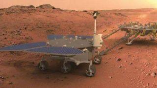 Китайский ровер успешно сел на Марс