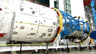 Главный модуль китайской орбитальной станции прошел тестирование и работает в штатном режиме