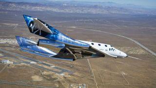 Летные испытания космолета Unity прошли успешно