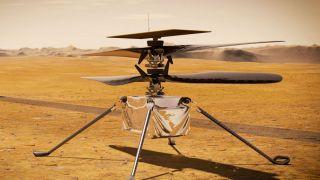 Шестой поле вертолета Ingenuity