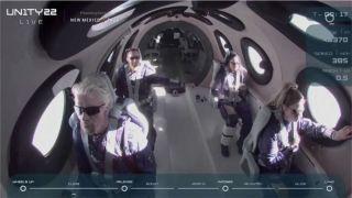 Unity-22 компании Virgin Galactic успешно совершил суборбитальный полет