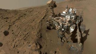 Curiosity обнаружил возможный источник метана на Марсе