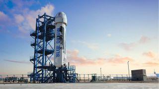 Прямая трансляция пуска РН New Shepard от Blue Origin в рамках миссии NS-17